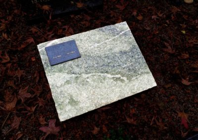 T8 | Metallic green, natuur ruw