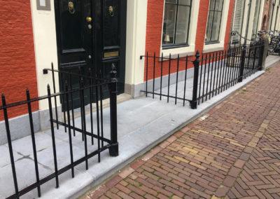 Restauratie stoep en hek | Oude Delft