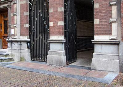 Doorgang parkeergarage | Oude Delft